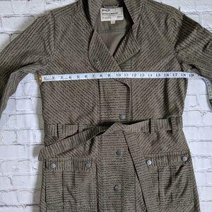 RVCA Jackets & Coats - RVCA Khaki Green Hooded Utility Jacket